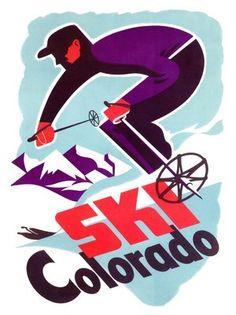 swiss vintage ski posters