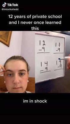 High School Hacks, High School Life, Life Hacks For School, School Study Tips, School Tips, School Videos, Cool Math Tricks, Maths Tricks, Useful Life Hacks