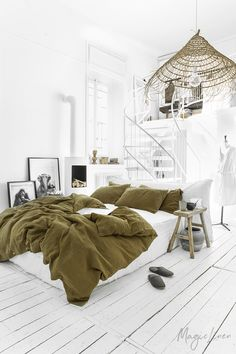 Refresh your bed with our linen duvet cover in Olive green. Stone washed European linen covers for duvets and comforters. Washed Linen Duvet Cover, Bed Linen Sets, Duvet Sets, Duvet Cover Sets, Bedroom Styles, Living Spaces, Bedroom Decor, Bedroom Sets, Master Bedroom