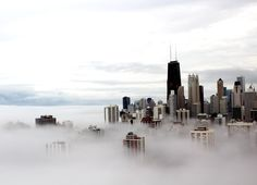 World Cities in the Clouds - Chicago