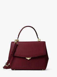 c91a5fe88b6f Ava Medium Leather Satchel Handbags Michael Kors, Purses And Handbags, Michael  Kors Ava,