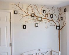 Slap some photos in those frames and you've got an awesome family tree.
