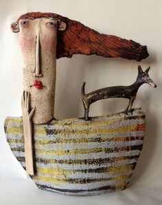 Sarah Saunders Sarah Saunders makes figurative objects out of Clay.She teaches Ceramics and also accept commissions about the art...