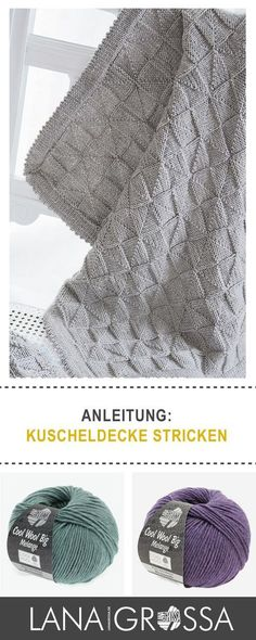 57 besten Decke stricken Bilder auf Pinterest in 2018 | Knitting ...
