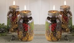 How to Make Your Own Wonderfully Scented Mason Jar Oil Candle   Health & Natural Living