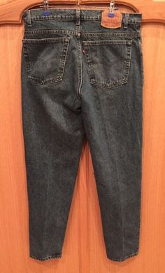 Vintage Levi's USA Mens 550 Sz 38x32 Relaxed Fit Tapered Leg100% Cotton Jeans 5A…