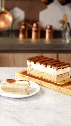 This super delicious Tiramisu Cake recipe comes with detailed step-by-step photos and video. Tiramisu Cake Recipe by Also The Crumbs Please Sweet Recipes, Cake Recipes, Dessert Recipes, Yummy Food, Tasty, Cake Ingredients, Frozen Desserts, Food Cakes, Sweet Treats