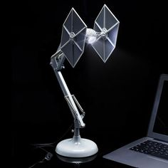 TIE Fighter Anglepoise Desk Lamp - Buy at The Fowndry