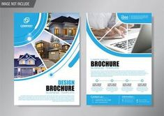 Design cover flyer and brochure business template for annual report Premium Vector Event Poster Template, Brochure Template, Banner Design, Flyer Design, Vector Design, Brosure Design, Booklet Design, Design Layouts, Graphic Design