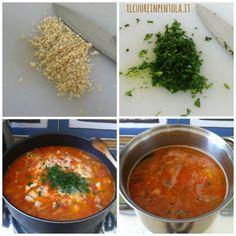 Il cous cous di pesce è un piatto a base di semola di grano duro condito con del brodo a base di pesci arricchito co spezie e aromi