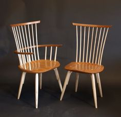 Handmade #Windsor Chairs. You'll only find these in #Vermont. By Timothy Clark Chairwright, Waltham VT. #handmade #customwoodwork