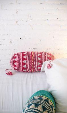Pillow Crochet Marrakech  por lacasadecoto, €26.00