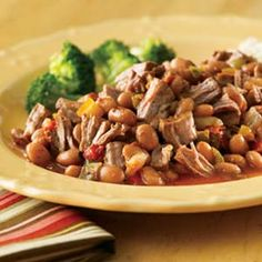 Southwest Pot Roast With Pinto Beans