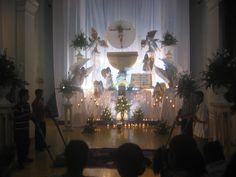 jueves santos altares en dominicana | Monumento Eucarístico en Parroquia Nuestra Señora Santa Ana (Capilla ...