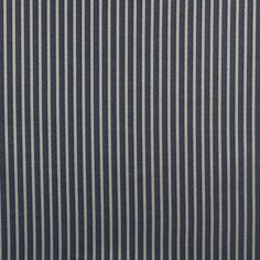 Wedgewood Stripe Blue Dark and White Small Scale Damask Upholstery Fabric