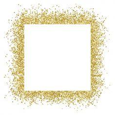 free vector Gold glitter frame sparkles on white background - Backgrounds Fashion Wallpaper, Trendy Wallpaper, Wallpaper Backgrounds, Sparkle Wallpaper, White Backgrounds, Glitter Png, Glitter Frame, Glitter Heels, White Glitter