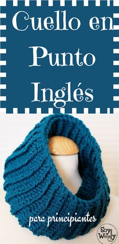Easy and fast knitting, a Unisex Neck in English Knit, step by step rnrnSource by csolebrichs Loom Knitting, Knitting Stitches, Baby Knitting, Dyi, Couture, Dress Patterns, Cowl, Knit Crochet, Unisex