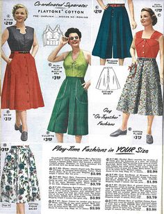 Lane Bryant 1954 Catalog pg 066 | Flickr - Photo Sharing!
