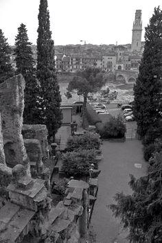 Verona - ponte pietra -