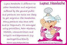 I had no idea it was a 'Lupus headache'