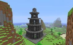 Stavění budovy Minecraft