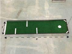 hole 6 mobile portable mini golf course for sale putt putt