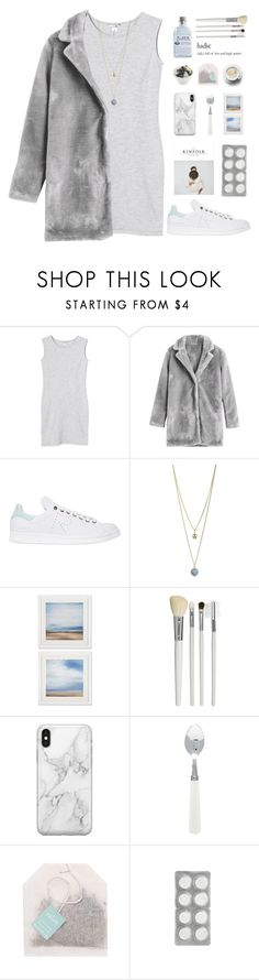 """""""a quicksand home."""" by nostalgicteen ❤ liked on Polyvore featuring Monki, adidas, Dorothy Perkins, Cath Kidston, Alder New York, Recover, Paper Source, StreetStyle, gray and polyvorecommunity"""