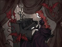 Pleasant Evening With Classical Music by IrenHorrors on deviantART