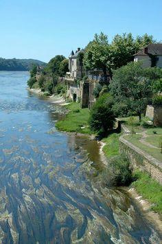 Dordogne, rivier de Varennes, E. Klever