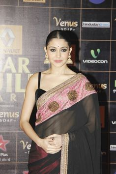 Anushka Sharma  at  The Renault Star Guild Awards 2013.