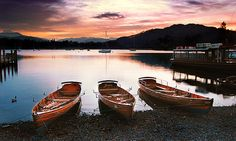 Boats on Windermere, Waterhead, Lake District, Cumbria, UK Places Ive Been, Places To Go, English Countryside, Cumbria, Lake District, British Isles, Windermere Lake, Coastal, England