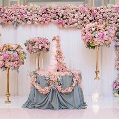 Repost from @anita_fancy  Yesterday's b i g success! Our client threw his wife a surprise 30th birthday at the historic @langhampasadena & we used the ballroom as our inspiration! Mint + Blush tones all around @melodymelikian