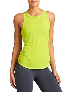 Crunch 2 Tank - Our sheer Crunch tank got new, improved fabric thats still barely-there but even more suitable for everything you take on.