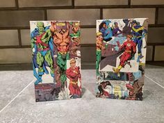 Check out this item in my Etsy shop https://www.etsy.com/ca/listing/567472569/justice-league-wooden-pine-bookends-pine
