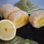 Torta de Laranja - Receitas e Menus © Sushi, Ethnic Recipes, Food, Lemon Custard, Condensed Milk, Cake Receipe, Orange, Coconut Cakes, Pintura