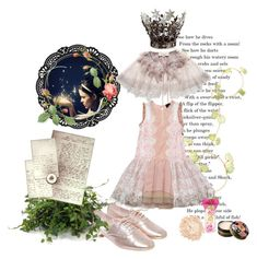 """""""I'm the Queen of my own FairyTale"""" by aroa-hime ❤ liked on Polyvore featuring Just Cavalli, Miso, Juicy Couture, Urban Decay, Anna Sui, Warehouse, Distinctive Designs, vintage, whimsical and VintageInspired"""