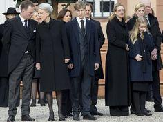 Funeral of Prince Richard of Sayn-Wittgenstein-Berleburg
