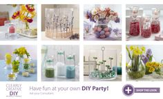 To shop to create this look enter: http://partylite.biz/legacy/sites/rifermarbiz/productcatalog?page=productlisting.category&categoryId=58279&viewAll=true&showCrumbs=true&selectedLocale=en_US Look for host CONSUELO MAR to get an up to $50 item HALF OFF for every $50 spend,