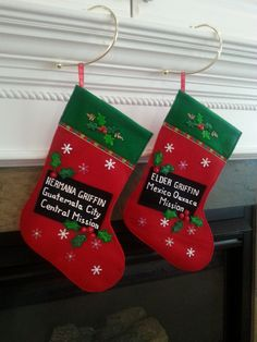 Perfect Stocking to send your missionary...and his/her companion!!!