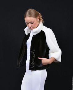 Верхняя одежда ручной работы. Ярмарка Мастеров - ручная работа. Купить Шубка ПАНДА. Handmade. Норка, индивидуальный дизайн, дизайн