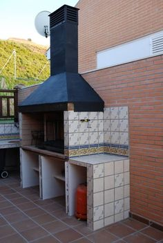If a rustic outdoor kitchen or barbecue setup is what your after, then this example from BARBACOAS ARGENTINAS S L should satisfy your needs.