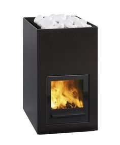 "SS466 Utu 20 kW | Tulikivi. Wood burning ""kiuas""/stove for the sauna?"