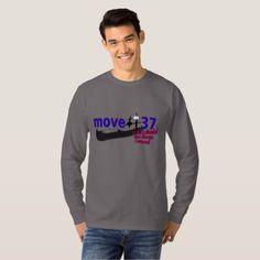 #move 37 man vs machine in Go/Weiqi/IGO/Baduk T-Shirt - #birthday #gift #present #giftidea #idea #gifts