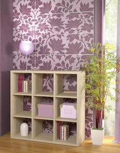 ΒΙΒΛΙΟΘΗΚΗ 3Χ3 Shelving, Bookcase, Home Decor, Shelves, Decoration Home, Room Decor, Shelf, Bookcases, Book Racks