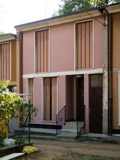 BBPR - Quartiere INA-Casa (Typ II), Cesate 1951