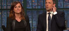 Video Licks: Amy Poeler & Seth Meyers Defend Women's Sports on A New REALLY?!