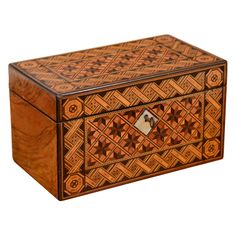 ENGLISH - Victorian Parquetry Box | From a unique collection of antique and modern boxes