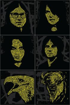 OMG Posters! » Archive » New Posters for The Dead Weather by Todd Slater (Onsale Info)