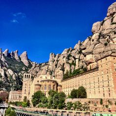Montserrat, Spain. Learning: Must be done by a one way Gondola.  Maybe next time.