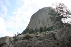 Devil's Tower National Monument, Wyoming, Photo by Trish Milburn